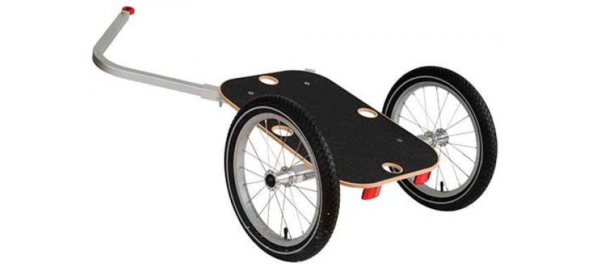 Грузовой велоприцеп и его конструкция